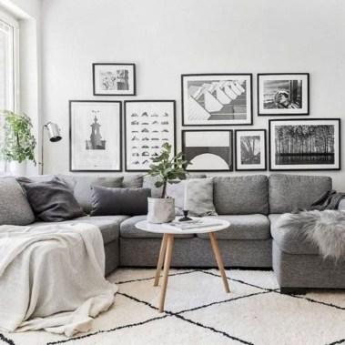 Gorgeous Scandinavian Living Room Design Ideas 28