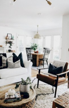 Gorgeous Scandinavian Living Room Design Ideas 30