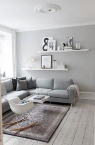Gorgeous Scandinavian Living Room Design Ideas 31