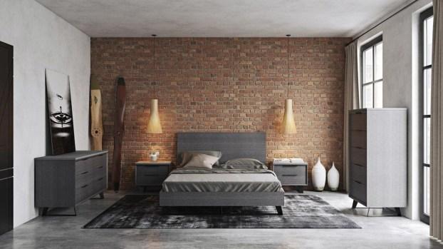 Masculine And Modern Man Bedroom Design Ideas 15