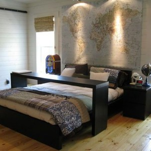 Masculine And Modern Man Bedroom Design Ideas 22