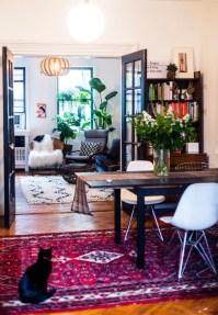 Stunning Bohemian Living Room Design Ideas 06