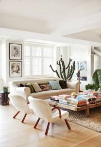 Stunning Bohemian Living Room Design Ideas 20