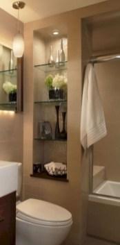 Stylish Small Master Bathroom Remodel Design Ideas 01