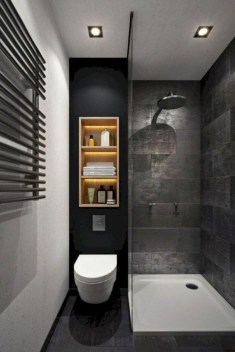 Stylish Small Master Bathroom Remodel Design Ideas 04
