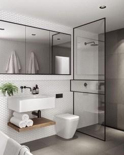 Stylish Small Master Bathroom Remodel Design Ideas 10