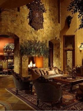 Amazing Lodge Living Room Decorating Ideas 15
