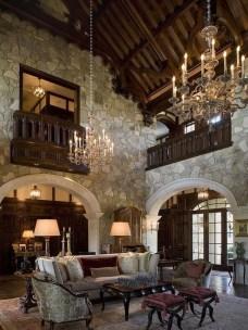 Amazing Lodge Living Room Decorating Ideas 19