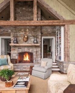 Amazing Lodge Living Room Decorating Ideas 22