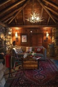 Amazing Lodge Living Room Decorating Ideas 34