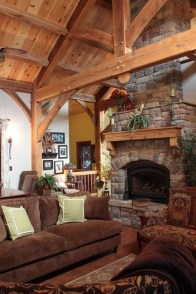 Amazing Lodge Living Room Decorating Ideas 38