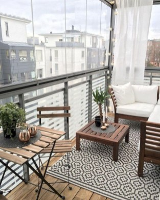 Awesome Apartment Balcony Design Ideas 25