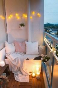 Awesome Apartment Balcony Design Ideas 28