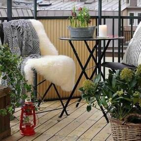 Awesome Apartment Balcony Design Ideas 29