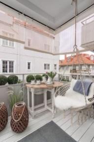 Awesome Apartment Balcony Design Ideas 30