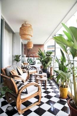 Awesome Apartment Balcony Design Ideas 33