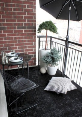 Awesome Apartment Balcony Design Ideas 35