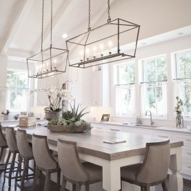 Awesome Lighting For Dining Room Design Ideas 11