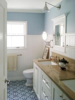 Beautiful Bathroom Decoration In A Coastal Style Decor 09