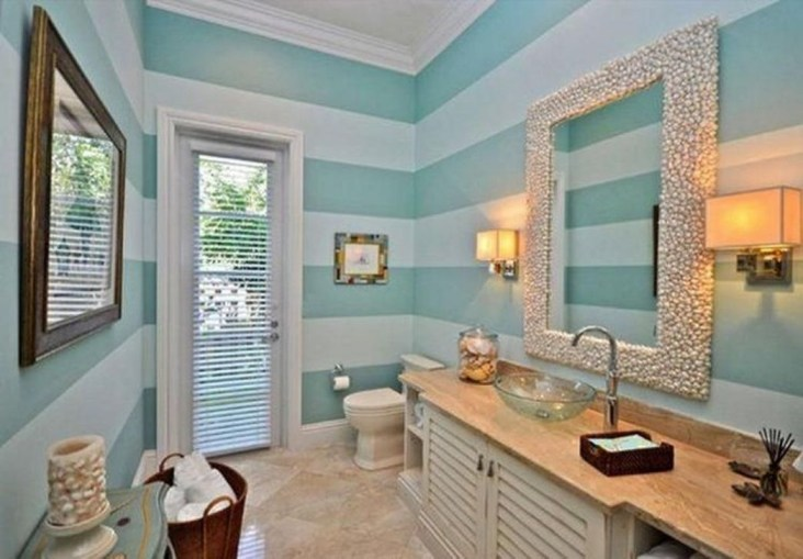 Beautiful Bathroom Decoration In A Coastal Style Decor 20