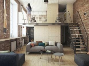Brilliant Small Apartment Decor And Design Ideas 13