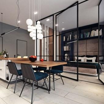 Brilliant Small Apartment Decor And Design Ideas 24