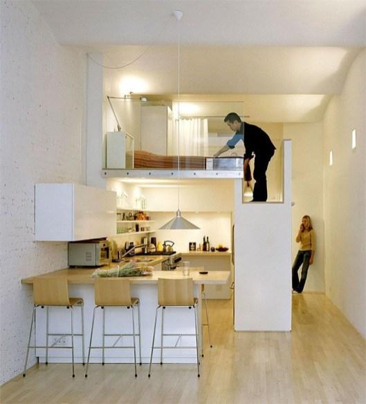 Brilliant Small Apartment Decor And Design Ideas 29