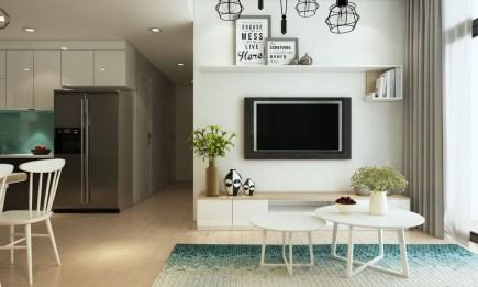 Brilliant Small Apartment Decor And Design Ideas 30