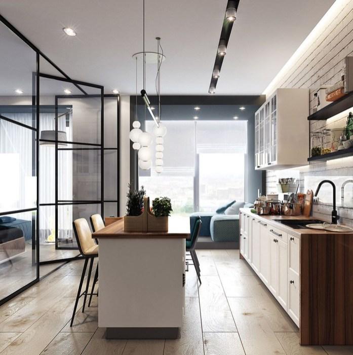 Brilliant Small Apartment Decor And Design Ideas 32