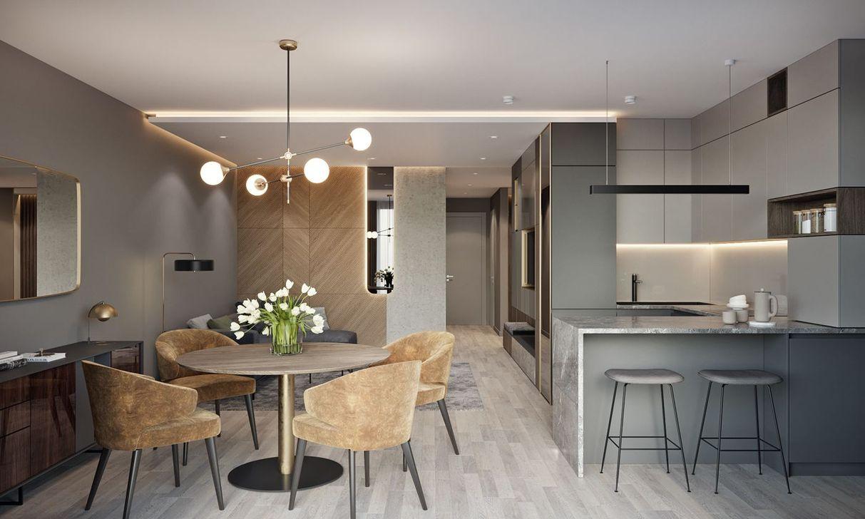 Brilliant Small Apartment Decor And Design Ideas 42