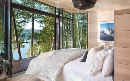 Comfortable Lake Bedroom Design Ideas 02