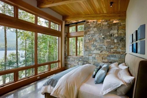 Comfortable Lake Bedroom Design Ideas 11