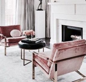Cute Pink Lving Room Design Ideas 01