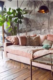 Cute Pink Lving Room Design Ideas 16