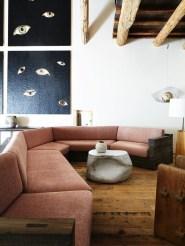 Cute Pink Lving Room Design Ideas 21