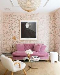 Cute Pink Lving Room Design Ideas 24