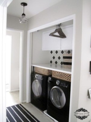 Efficient Small Laundry Room Design Ideas 14