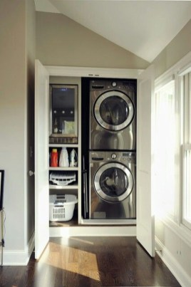 Efficient Small Laundry Room Design Ideas 15