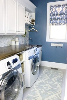 Efficient Small Laundry Room Design Ideas 18