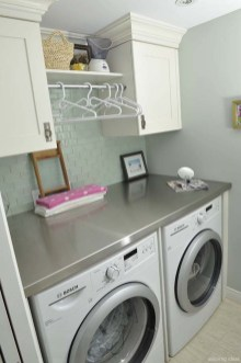 Efficient Small Laundry Room Design Ideas 27