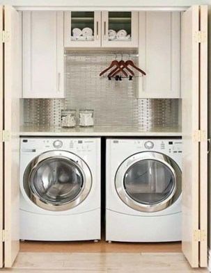 Efficient Small Laundry Room Design Ideas 33
