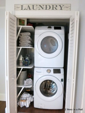 Efficient Small Laundry Room Design Ideas 34