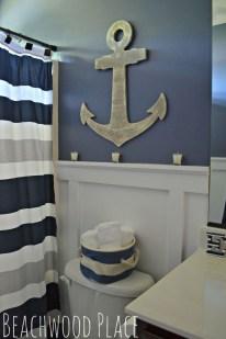Fabulous Coastal Decor Ideas For Bathroom 03