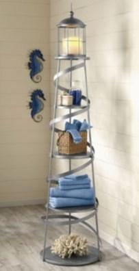Fabulous Coastal Decor Ideas For Bathroom 07