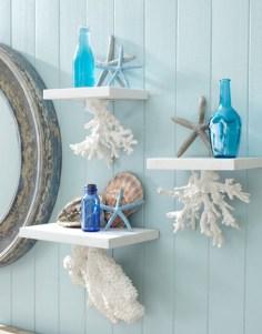 Fabulous Coastal Decor Ideas For Bathroom 11