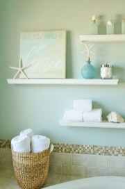 Fabulous Coastal Decor Ideas For Bathroom 30