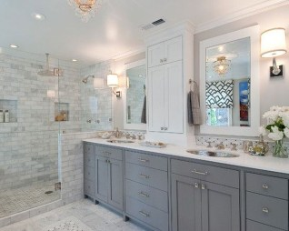 Gorgeous Kitchen Cabinets Design Ideas 30