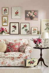 Lovely Shabby Chic Living Room Design Ideas 02