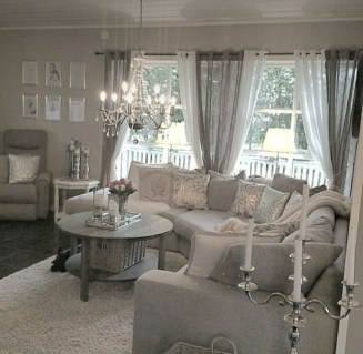 Lovely Shabby Chic Living Room Design Ideas 25