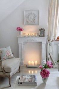 Lovely Shabby Chic Living Room Design Ideas 39